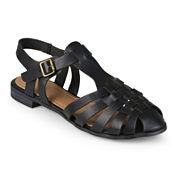 Journee Collection Tyla Cap-Toe Sandals