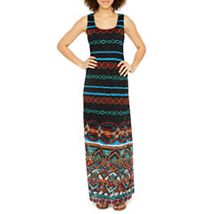Ronni Nicole Sleeveless Lace Maxi Dress