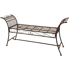 Oriental Furniture Garden Bench Patio Bench