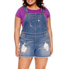 Arizona Denim Shorts-Juniors Plus