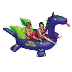 Swimline Giant Sea Dragon 9-ft Inflatable Ride-OnPool Toy
