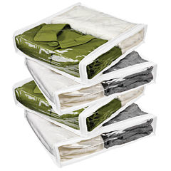 Honey-Can-Do® 4-pk. Zippered Storage Bags