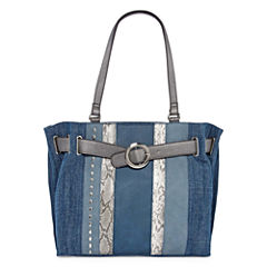 Latique Misty Denim Tote Bag