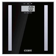 COBY Modern Multi User Digital Body Fat Scale