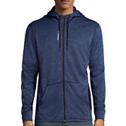Reebok® Workout Ready Mélange Graphic Full-Zip Hoodie