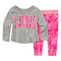 Xersion 2-pc. Legging Set-Baby Girls