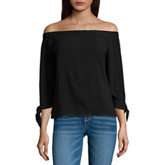 i jeans by BuffaloOff theShoulder Top