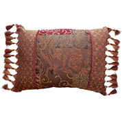 Croscill Classics® Catalina Red Oblong Decorative Pillow
