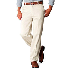 Dockers® D4 Signature Relaxed-Fit Flat-Front Khaki Pants