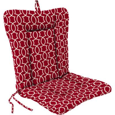 Euro Style Knife Edge Reversible Chair Cushion