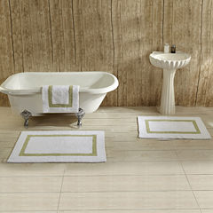 Better Trends Hotel Collection 2-pc. Cotton Reversible Bath Rug Set