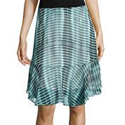 Worthington® Chiffon Flippy Skirt - Tall