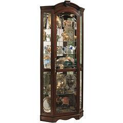 Newbury Corner Curio Cabinet