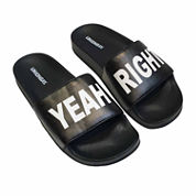 Union Bay Yeah Right Womens Slide Sandals