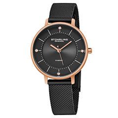 Stuhrling Womens Black Strap Watch-Sp16311
