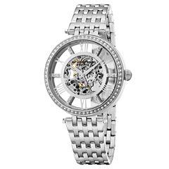Stuhrling Womens Silver Tone Bracelet Watch-Sp16315