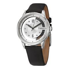 Stuhrling Womens Black Strap Watch-Sp15171