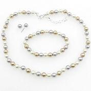 Vieste Rosa Womens 3-pc. Multi Color Brass Jewelry Set