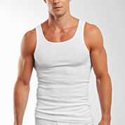 Hanes Cotton 3-pc. Sleeveless Tank
