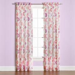 Saturday Knight Dream Rod-Pocket Curtain Panel