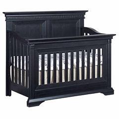 Ozlo Baby Galloway 4 in 1 Convertible Crib- Navy Mist