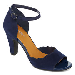 Arizona Galloway Open-Toe Pumps