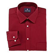 Stafford® Travel Long-Sleeve Easy Care Broadcloth Dress Shirt
