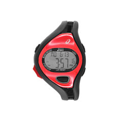 Asics Ar05 Runner Unisex Black Strap Watch-Cqar0506y