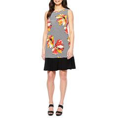 Ronni Nicole Sleeveless Shift Dress
