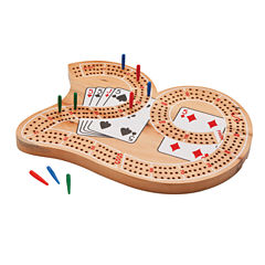 Mainstreet Classics Wooden Inch29Inch Cribbage Board