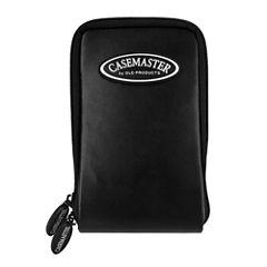 Casemaster Mini Pro Black Leather Dart Case
