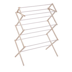Honey-Can-Do® Compact Wood Drying Rack