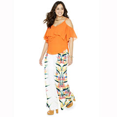 Bisou Bisou Side Slit Cami Top or Printed Palazzo Pants