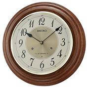 Seiko® Musical Wall Clock With 18 Hi Fi MelodiesQxm283blh