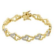 Sparkle Allure White Diamond Tennis Bracelet