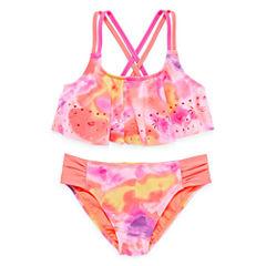 Angel Beach Girls Ombre Bikini Set - Big Kid