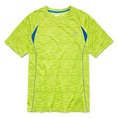 Avia Short Sleeve Crew Neck T-Shirt-Big Kid Boys