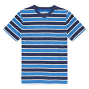 Arizona Short-Sleeve Striped Tee - Boys 8-20 and Husky