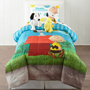 Peanuts Sunny Day Twin Comforter Set & Accessories