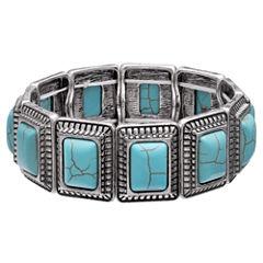 Mixit Clr 0717 Lt Blue Womens Stretch Bracelet