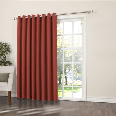 Sun Zero™ Emory Room Darkening Grommet Top Patio Panel