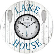 FirsTime® Lake House Wall Clock