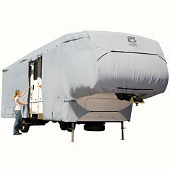 Classic Accessories 80-123-161001-00 PermaPro 5th Wheel & Toy Hauler Cover, Model 3