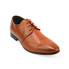X-Ray Medallion Mens Oxford Shoes