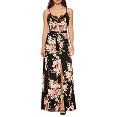 Bisou Bisou Sleeveless Floral Maxi Dress