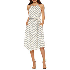 Weslee Rose Sleeveless A-Line Dress