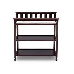 Delta Children Flat Top 2-Drawer 2-Shelf Changing Table