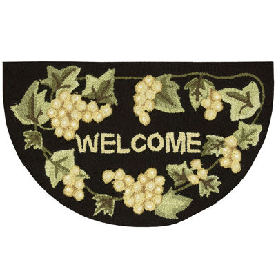 Nourison® Grapes Utility Wedge Rug
