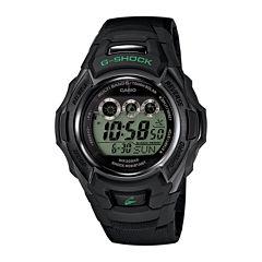 Casio® G-Shock Tough Solar Mens Black Resin Strap Sport Watch GWM500F-1CCR