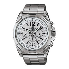 Casio® Edifice Tough Solar Mens Stainless Steel Watch EFR545SBD-7BVCF